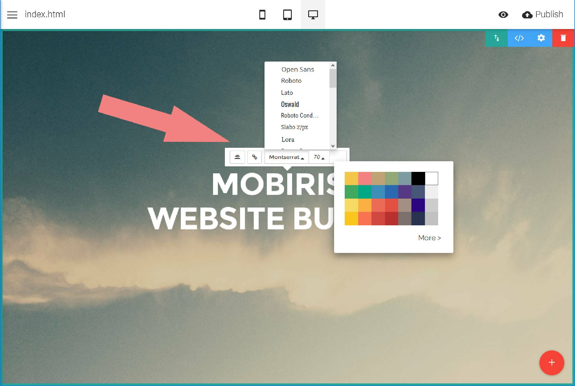Free website design software for Mobel design software