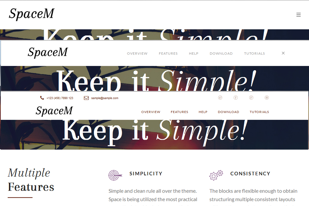 Free Responsive Bootstrap Themes