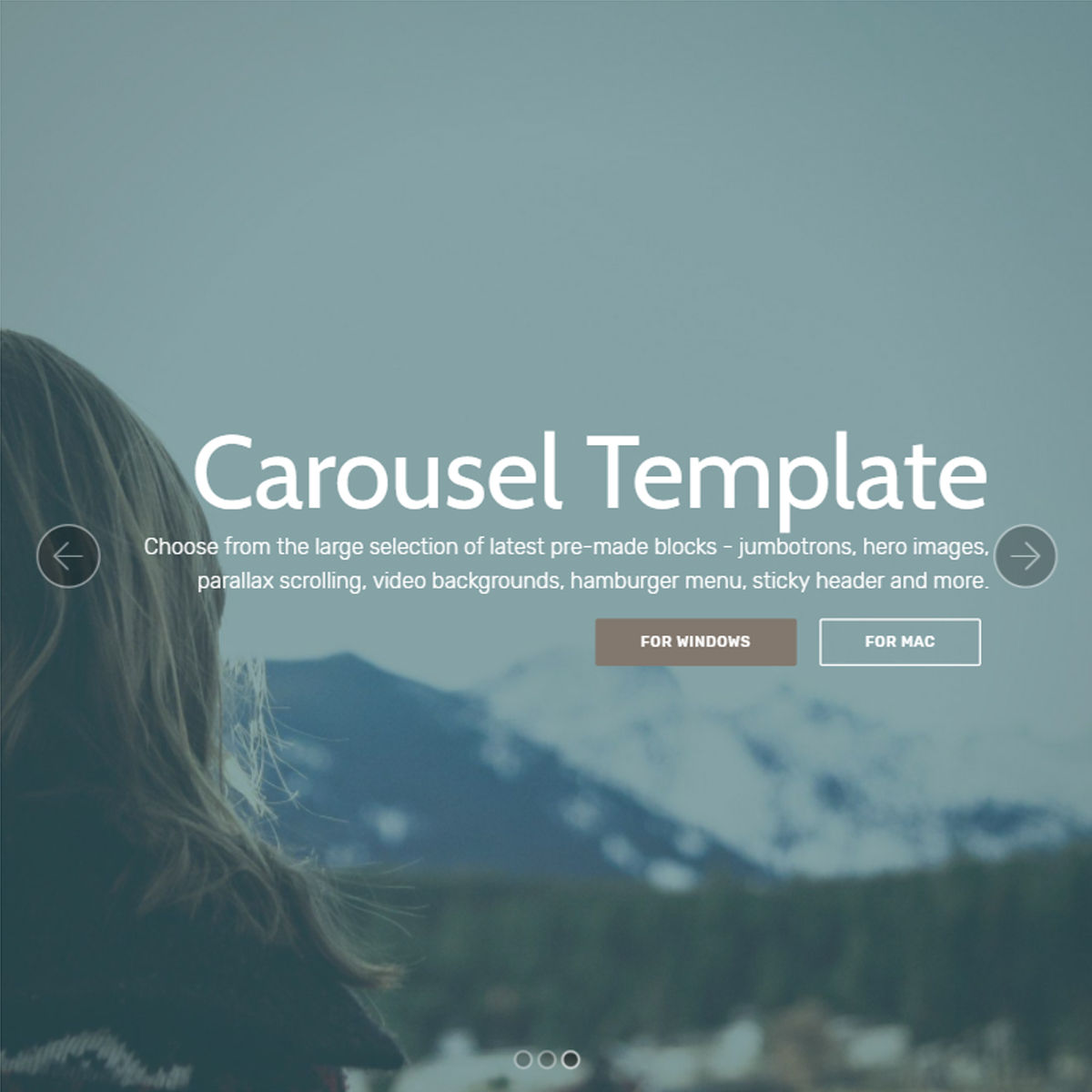 Free Download Bootstrap  carousel  Templates