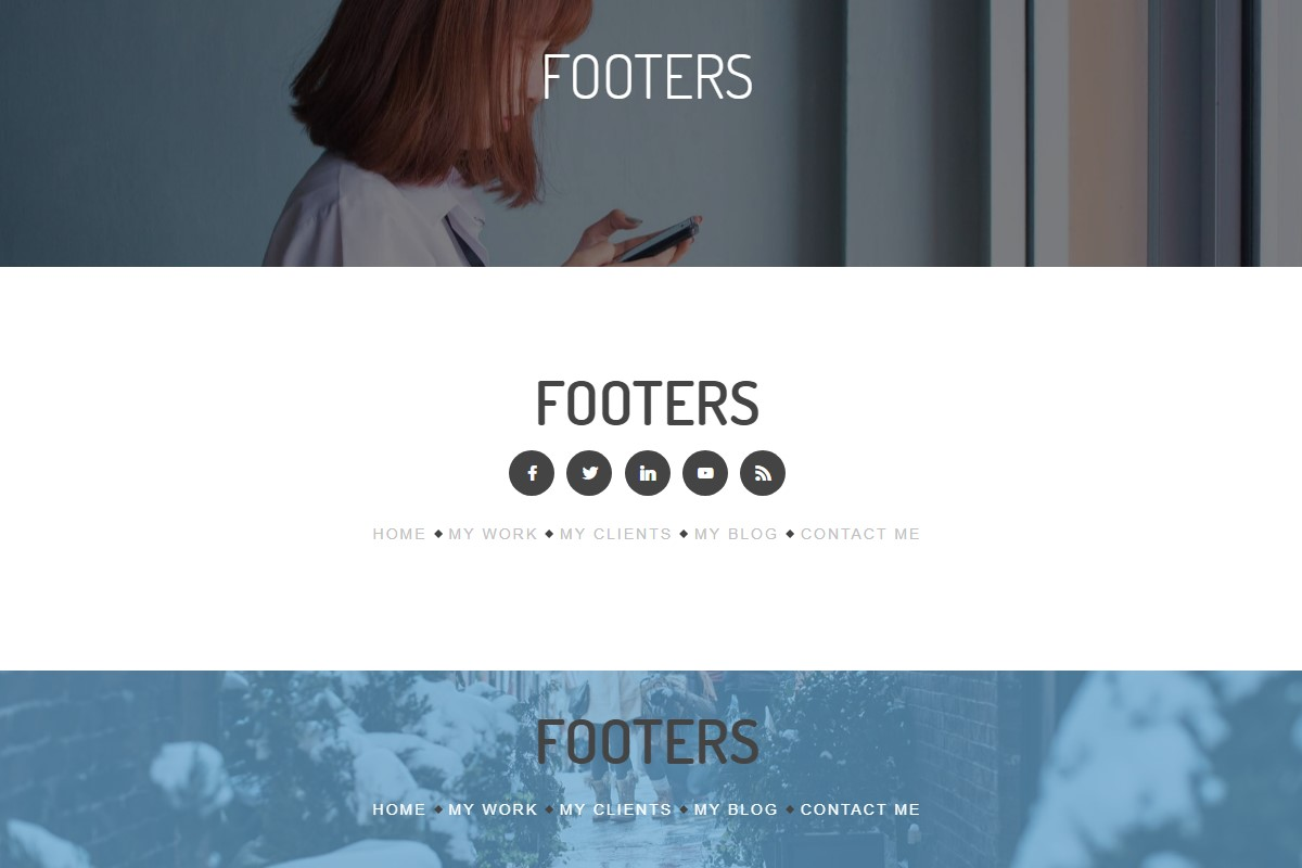 Useful Footer