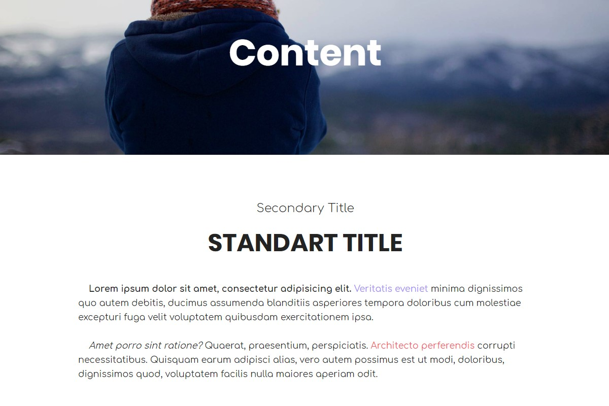 Coming Soon Templates with CSS