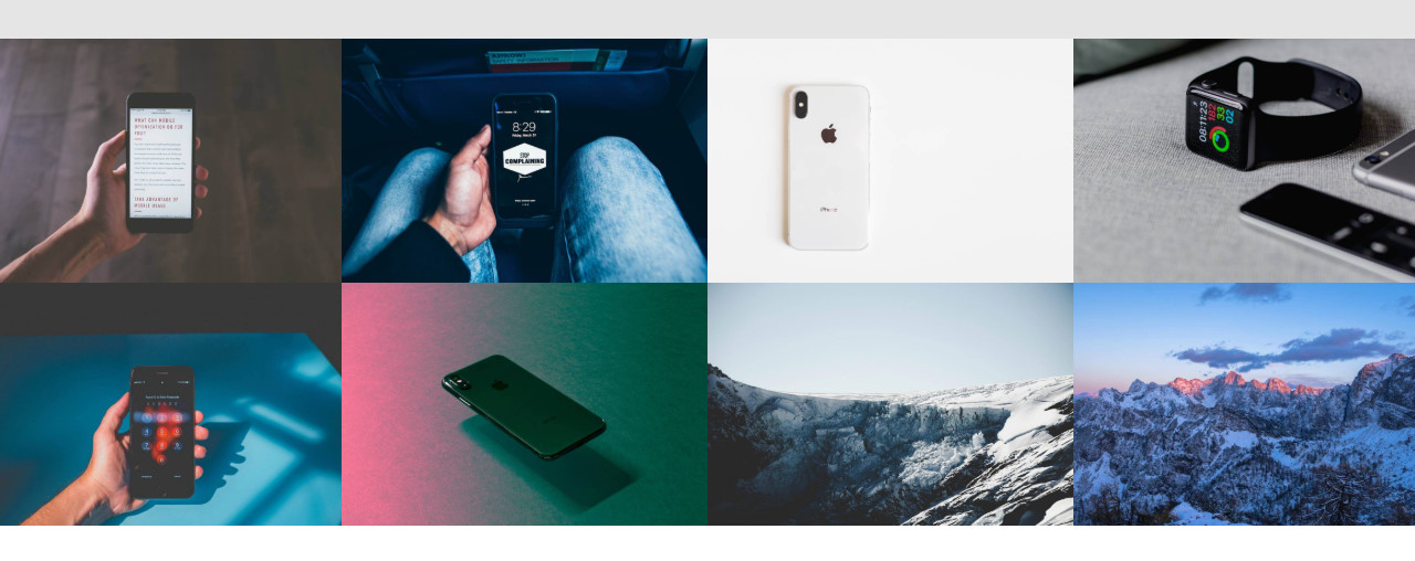 AMP Webpage Gallery Template