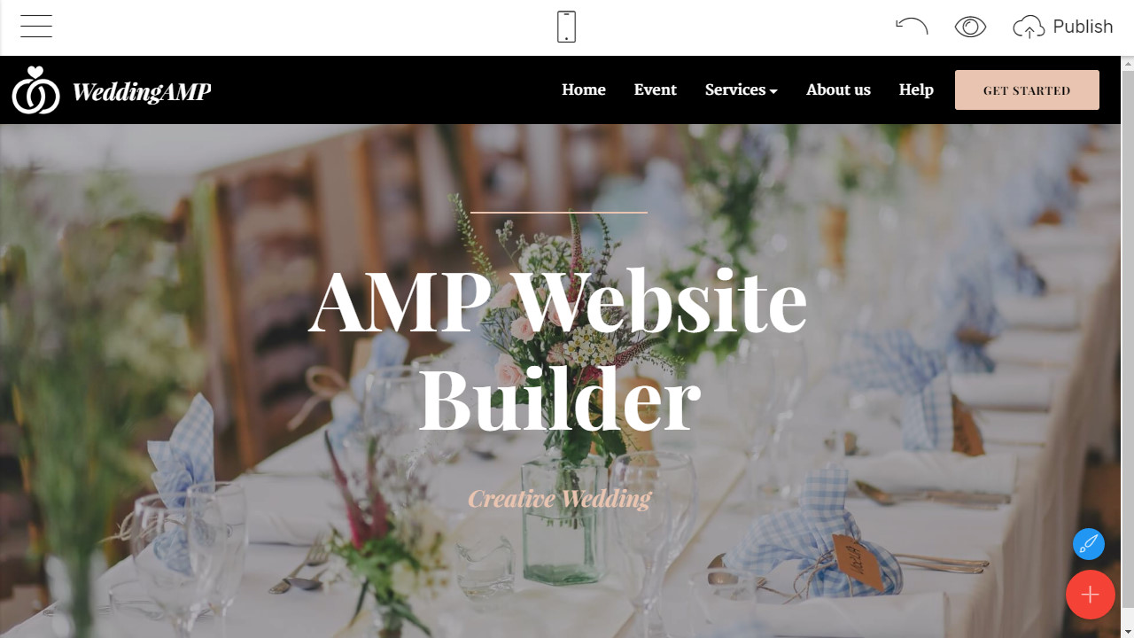AMP Website Builder