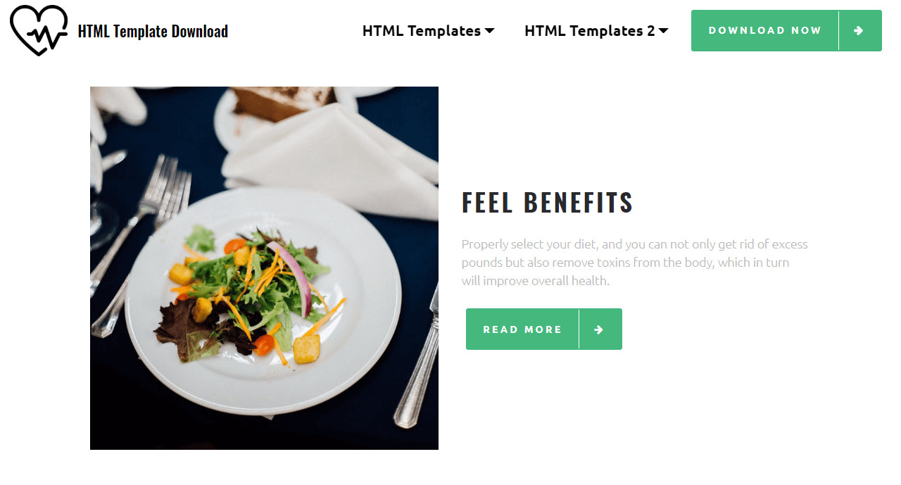 HTML Template Download