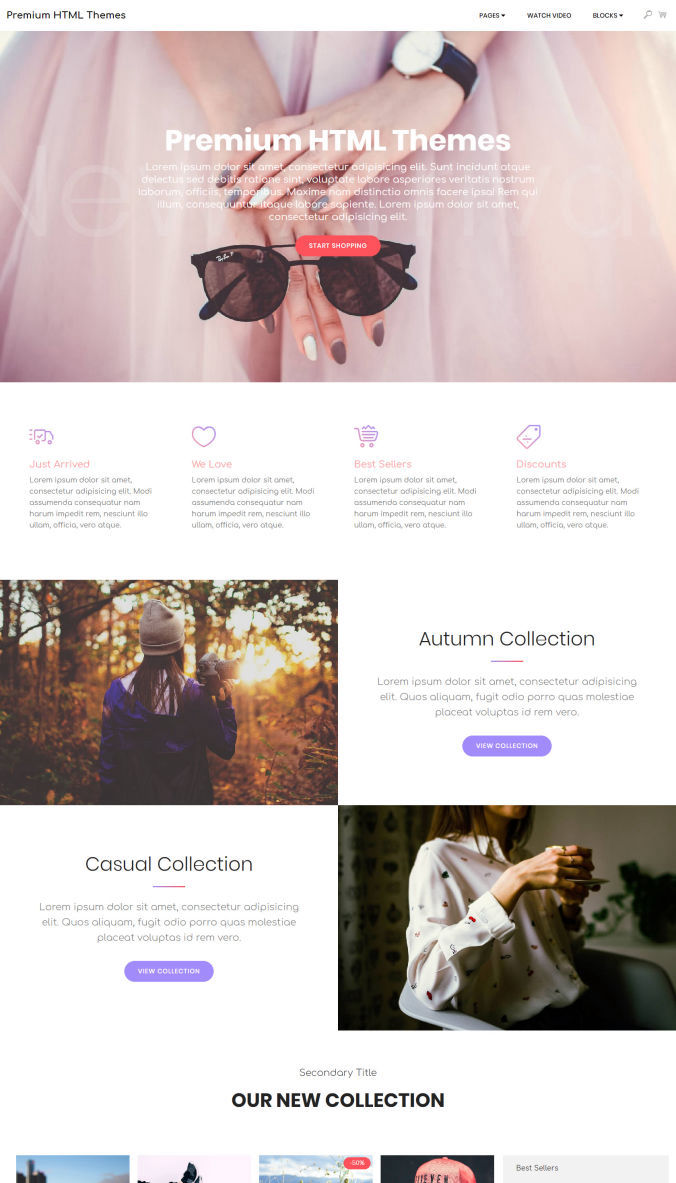 Graphic Website Templates