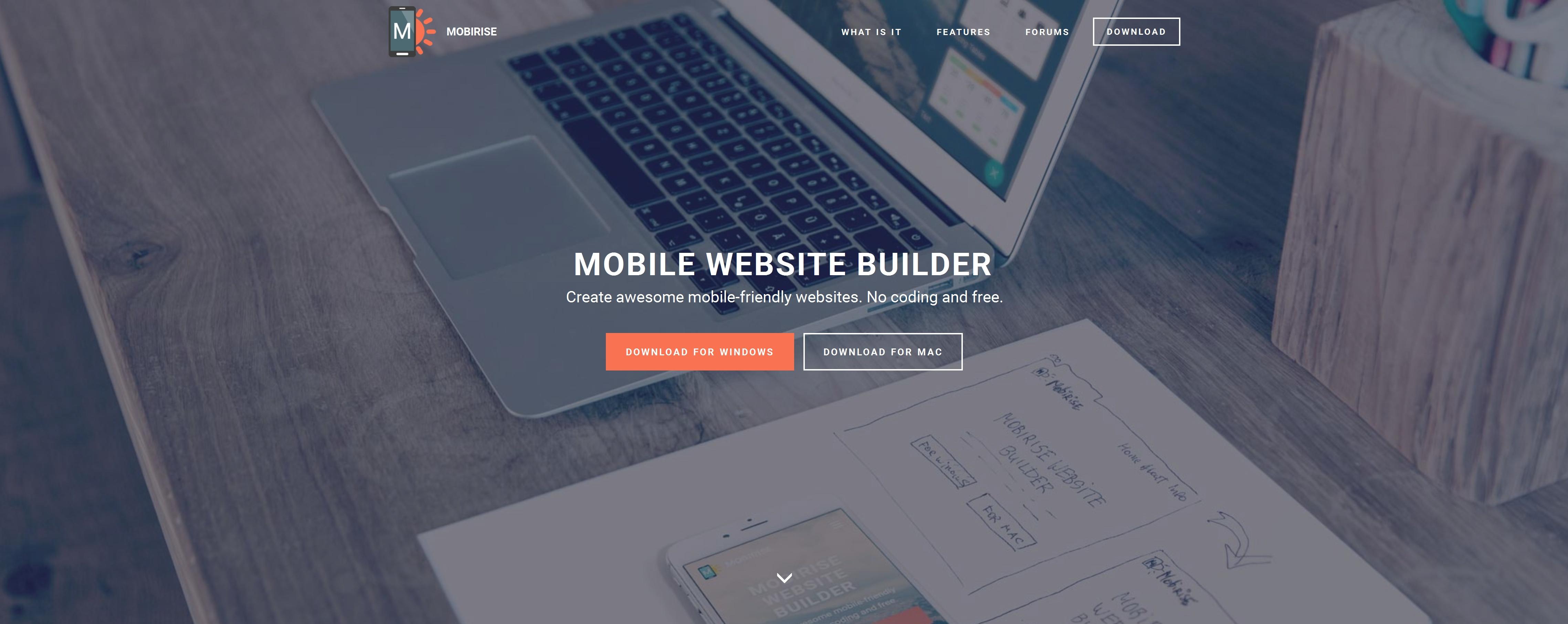 Offline Mobile Website Creator Software