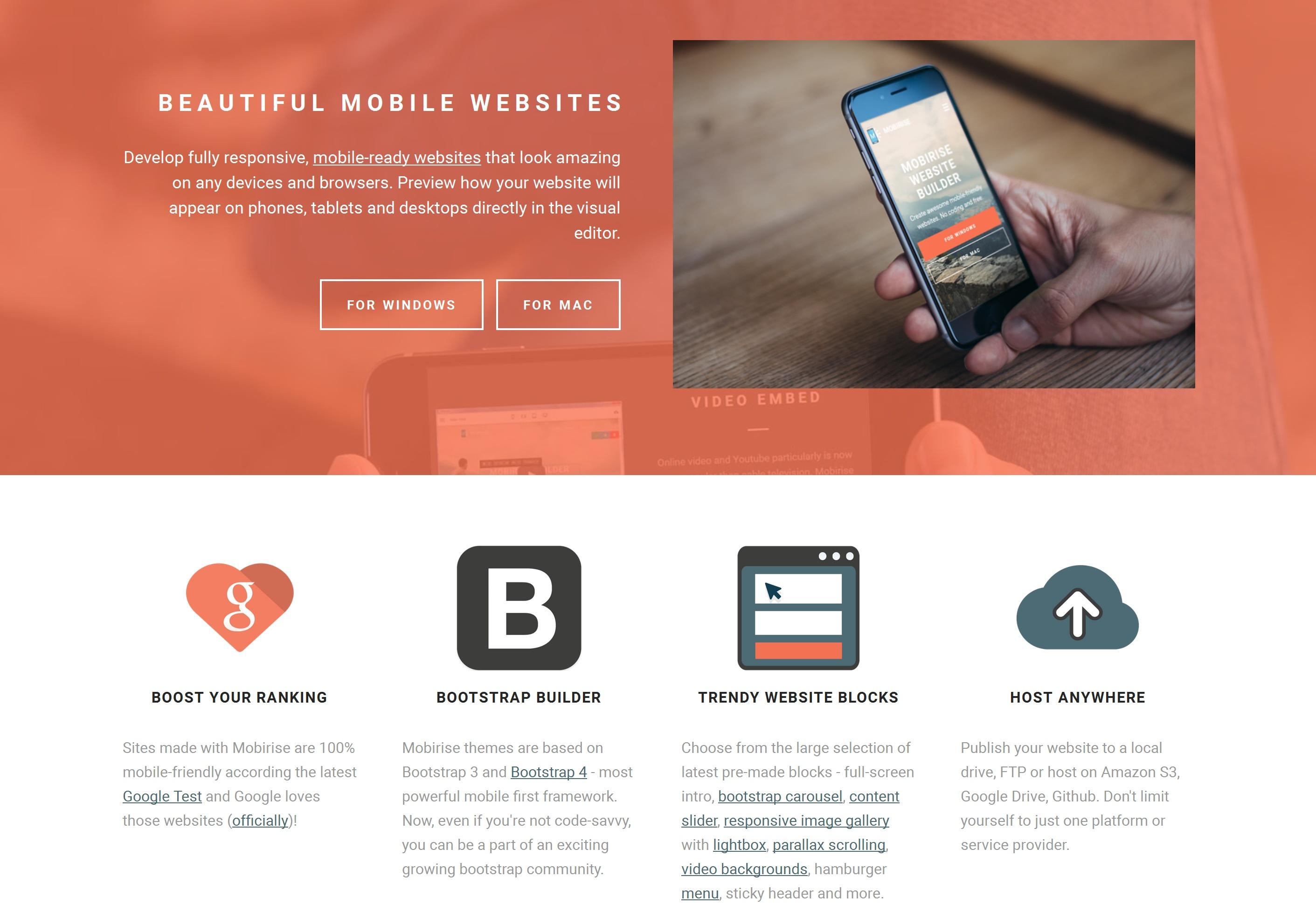 Offline Mobile Website Generator