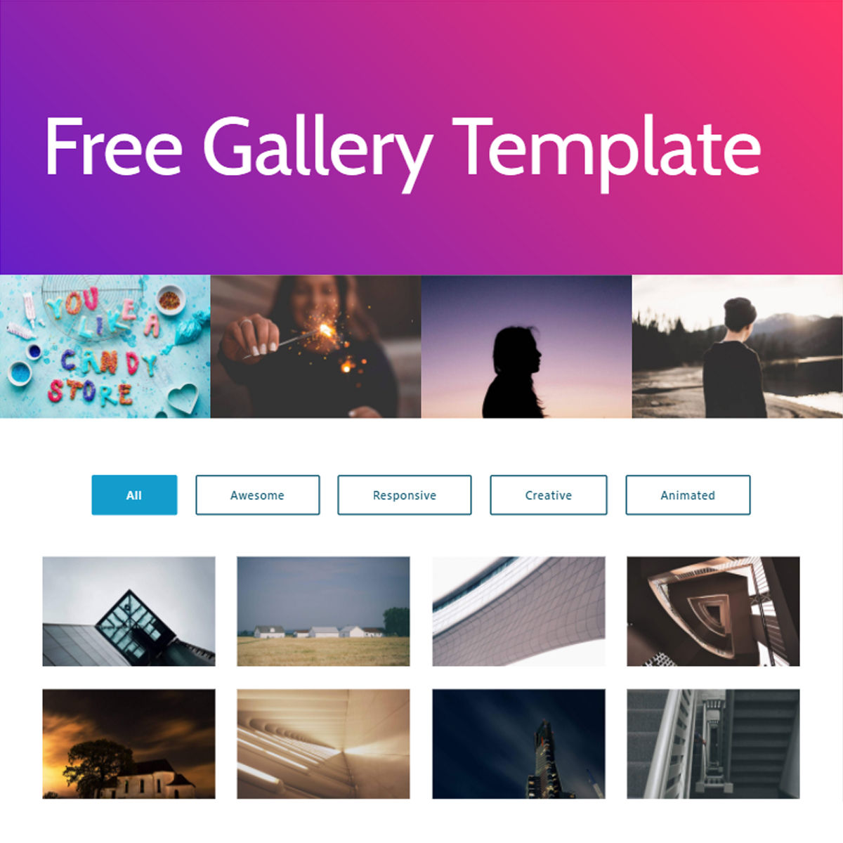 Free Download Bootstrap  Gallery  Templates
