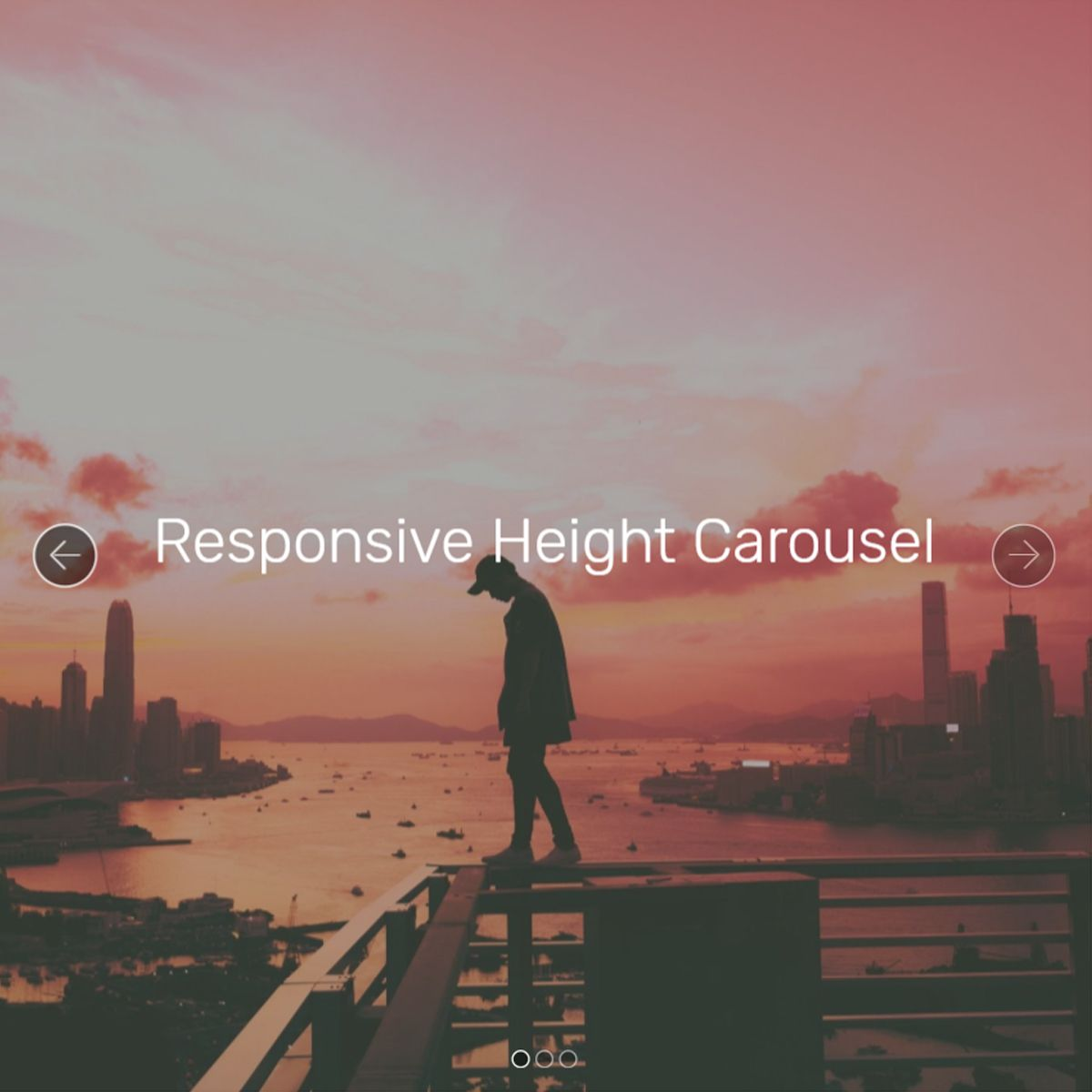 HTML Bootstrap Image Slideshow