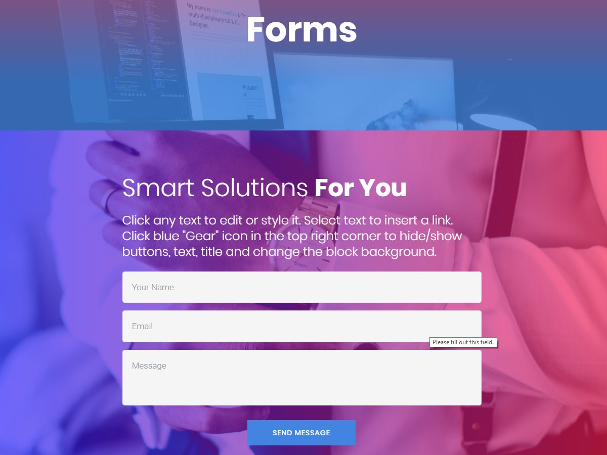 Awesome forms