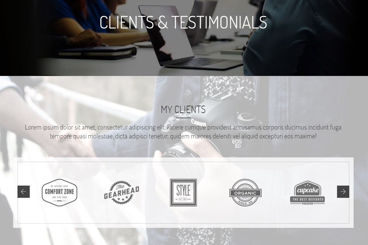 Useful Testimonials HTML Template