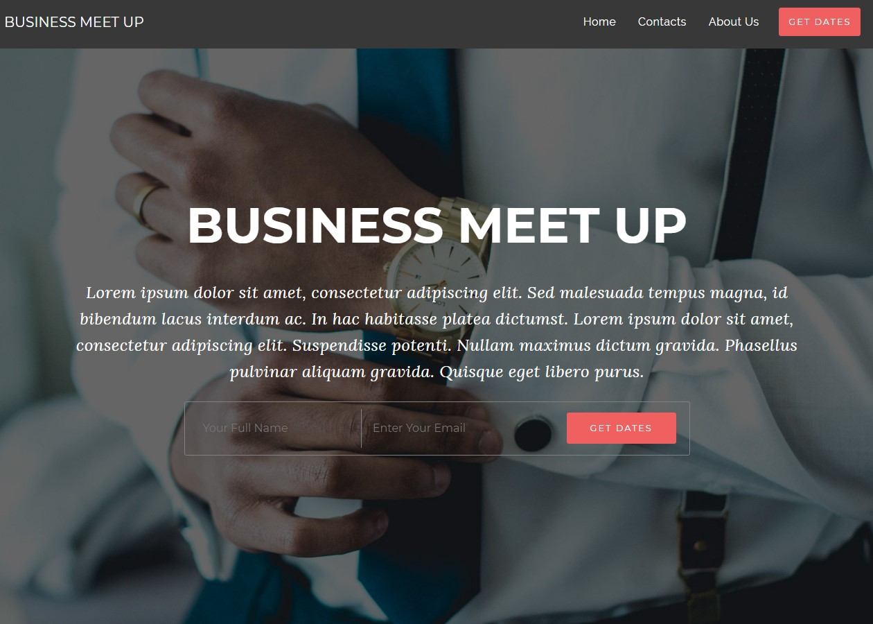 Event AMP Business Template