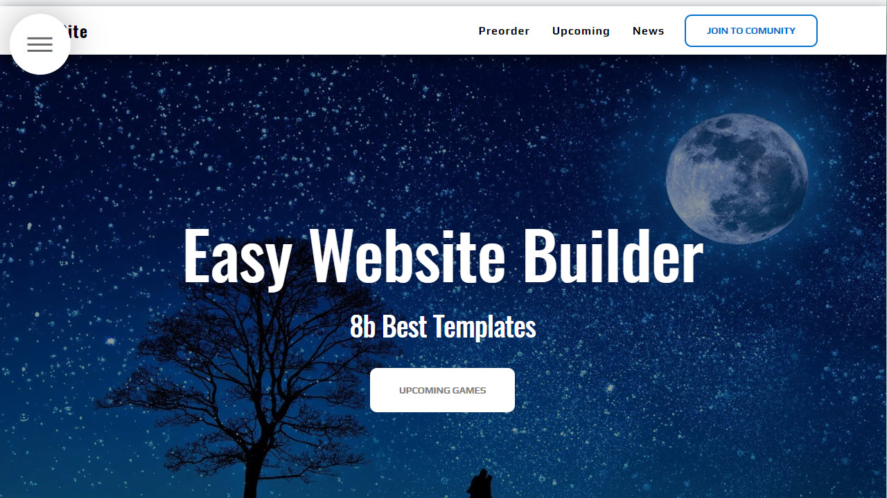 online website builder